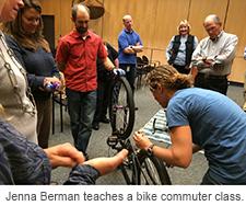 Jenna Berman commuter class